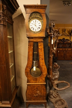 French comtoise clock, 19th C.