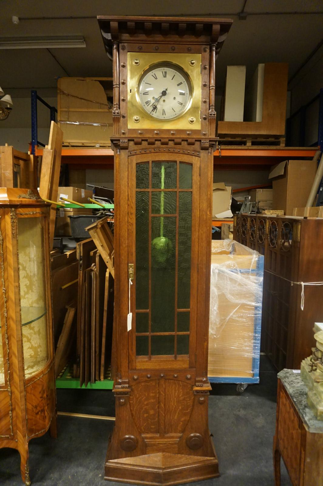 Art Deco Grandfather Clock 03 Grandfather Clocks 02