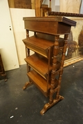 Bookstand in oak, Holland 19th century