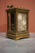 Carriage clock by Paul Garnier, France  around 1900