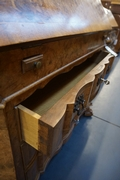 Chippendale style Desk in walnut, Holland early 20th C.