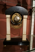 Directoire style Clock in marble, France last part 18th C.