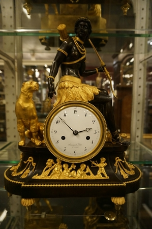 Directoire Clock model Africa