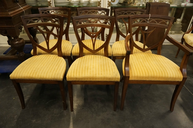 Directoire set of chairs
