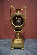Empire style Clock in gilded bronze, France Early 19th Century
