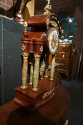 Empire style Mantle clock with Lenzkirch movement, austria 19th Century