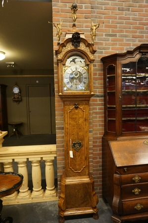 Grandfather clock by A. van Aken