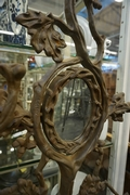 Hallstand in metal, France 19th century