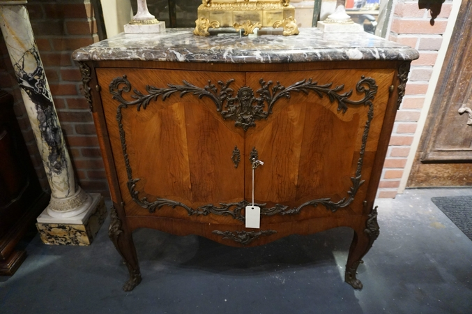 Louis XV 2 door cabinet