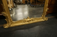 Louis XV style gilded mirror 18th Century