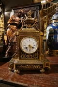 Louis XVI style Clock in bronze, France 2nd half 19th C.