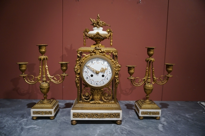 Louis XVI Clock set