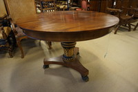 Mahogany Empire table