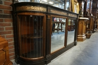 style Mirror top sideboard, Italy early 20th C.
