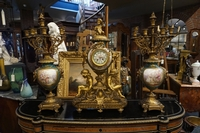 Napoleon III Clock set