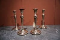 Set of 4 candlesticks