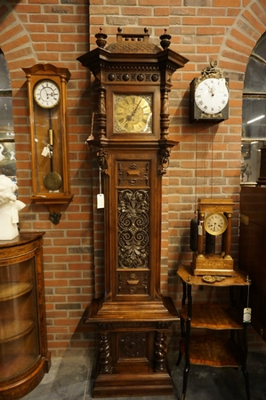 Vienna signed grandfather clock